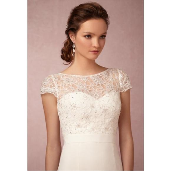 a19506472f8 BHLDN Dresses   Skirts - BHLDN Jenny Yoo  Luciana  wedding gown topper